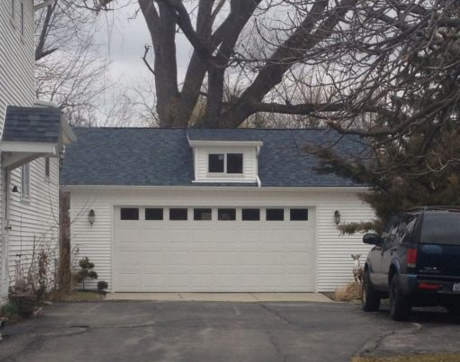 Detached Garage with dormer