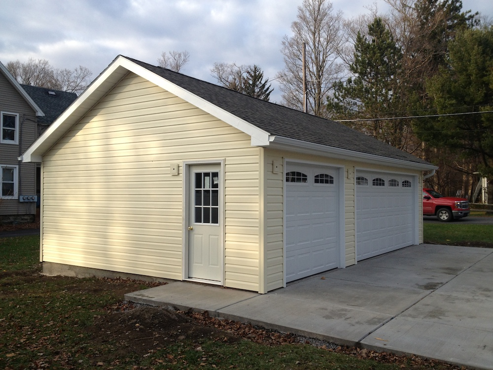 Detached Garage Custom Garage Builders Buffalo