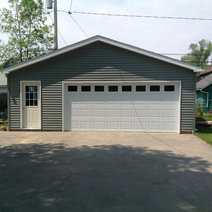 Photos custom garage builders buffalo atlantic garages wny for Custom detached garage