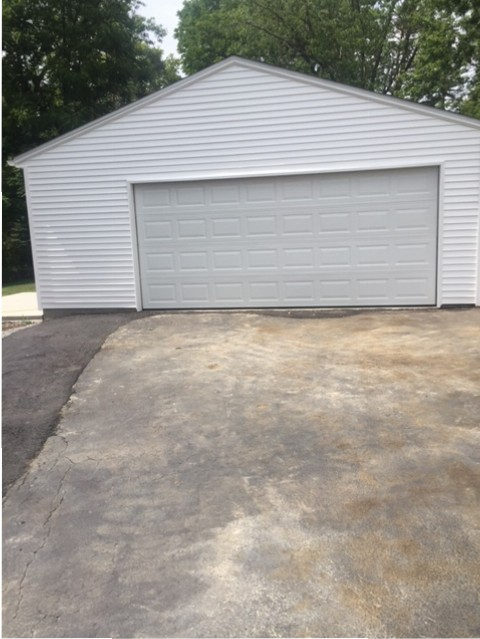 Detached 2 1 2 Car Garage Custom Garage Builders Buffalo
