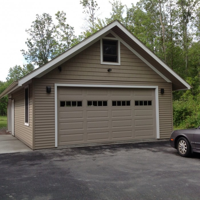 Detached Garage: Custom Garage Builders Buffalo – Atlantic Garages WNY