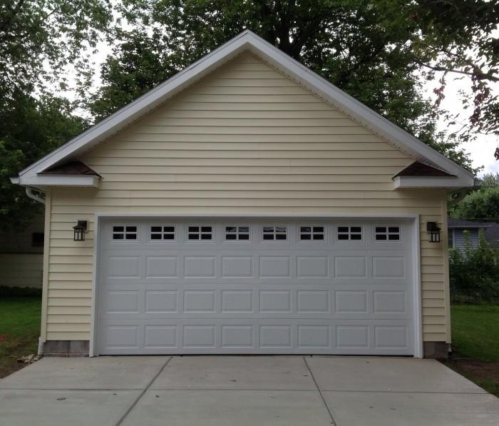 2 car garage detached