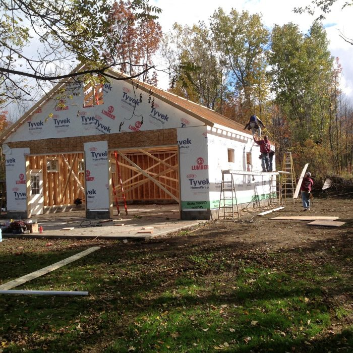 Detached Garage Construction