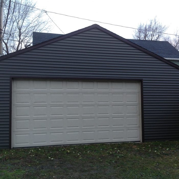 Photos custom garage builders buffalo atlantic garages wny for Detached garage pool house